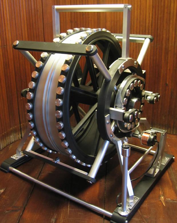 machine mouvement